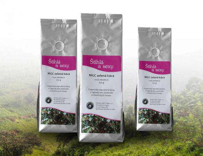 MGC zelená káva