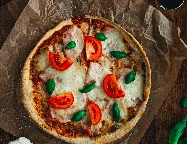 Domácí mražená pizza