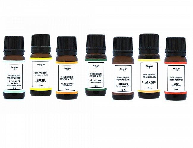 Sada 3 eseciálních olejů