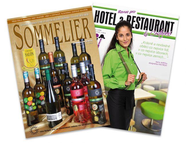SOMMELIER a Revue pro Hotel a Restaurant
