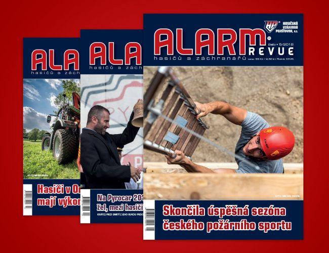 Alarm revue hasičů a záchranářů