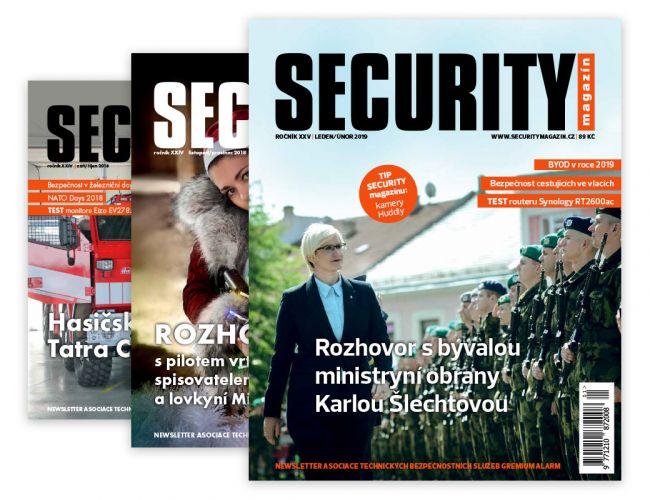 Security magazín