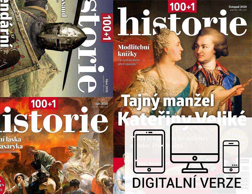 100+1 HISTORIE digitál