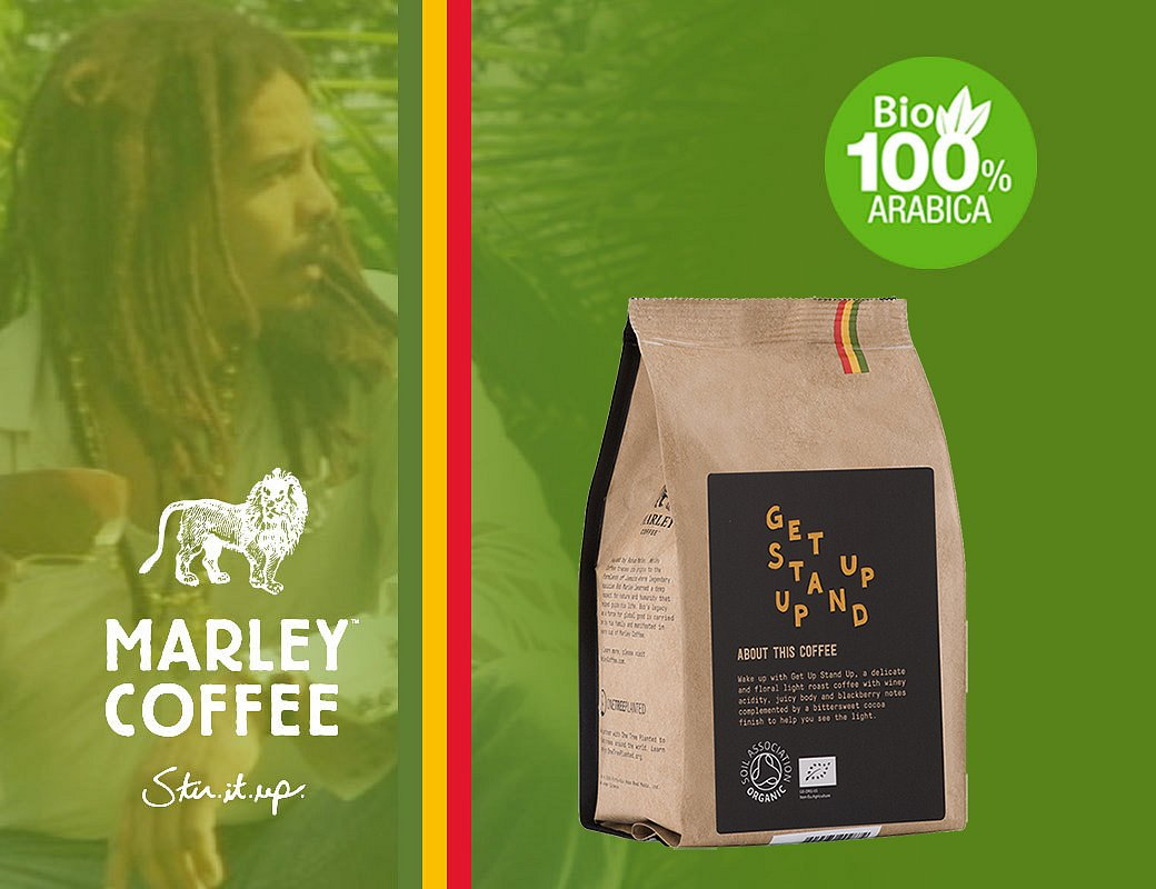 Marley Coffee Get Up Stand Up – 227 g