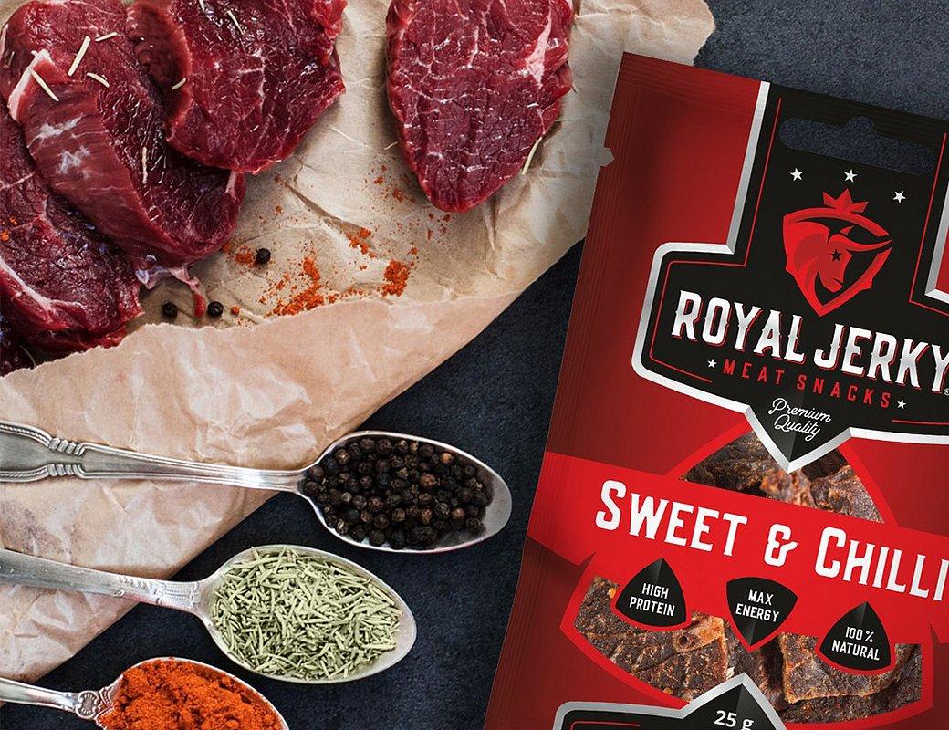 Royal Jerky – Sweet & Chilli