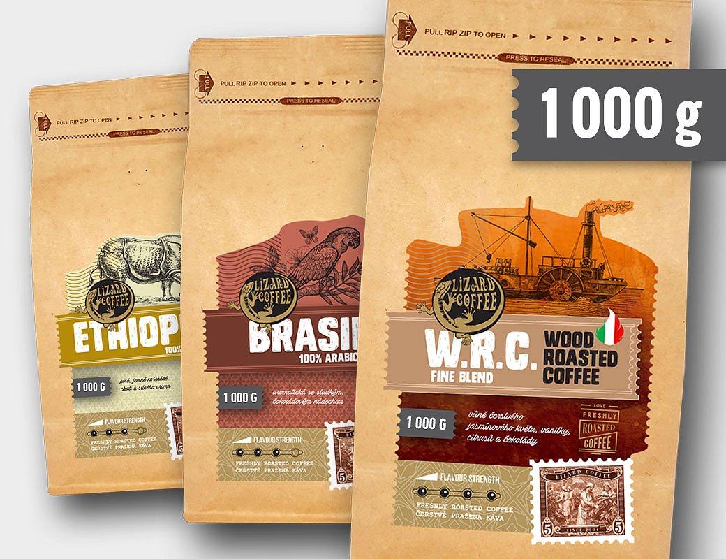 Lizard Coffee předplatné 1000 g