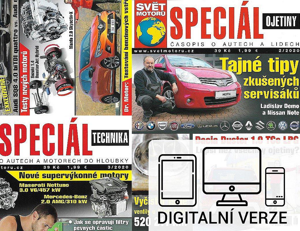 SPECIÁL  SVĚT MOTORŮ digitál