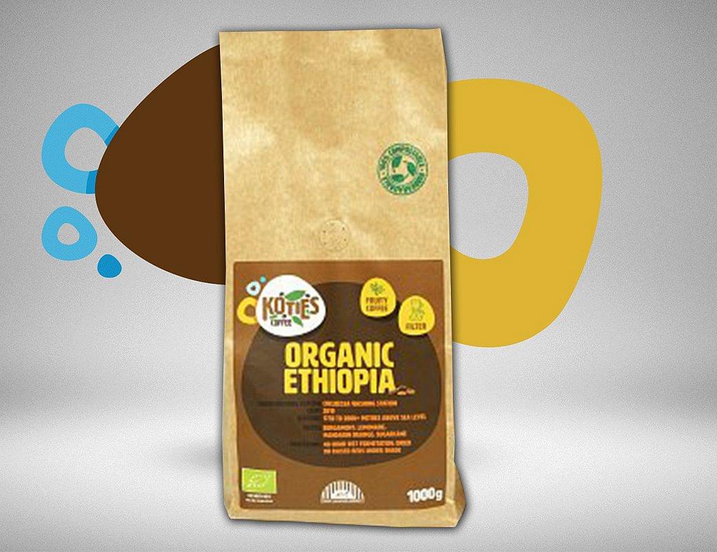 Zrnková káva Ethiopia 1000g