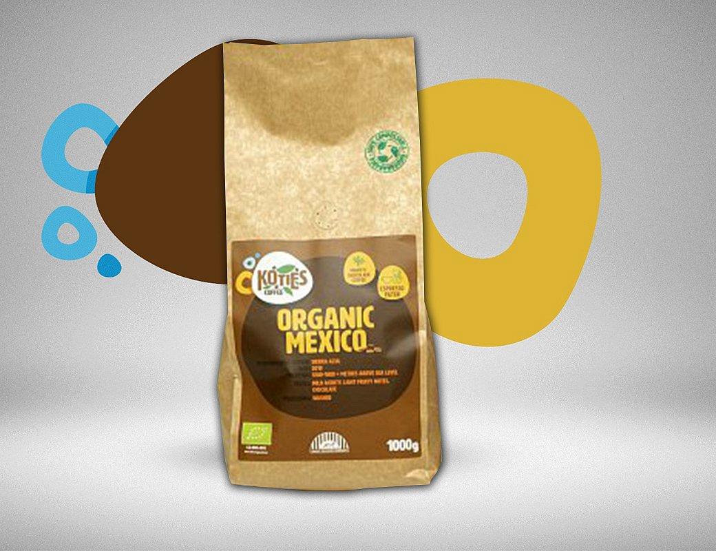 Zrnková káva Mexico 1000g
