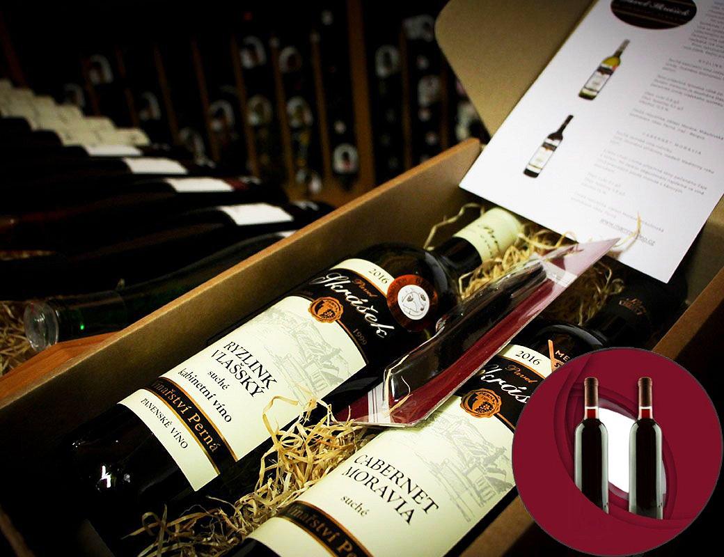 Předplatné červených vín