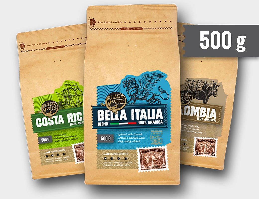 Lizard Coffee předplatné 500 g