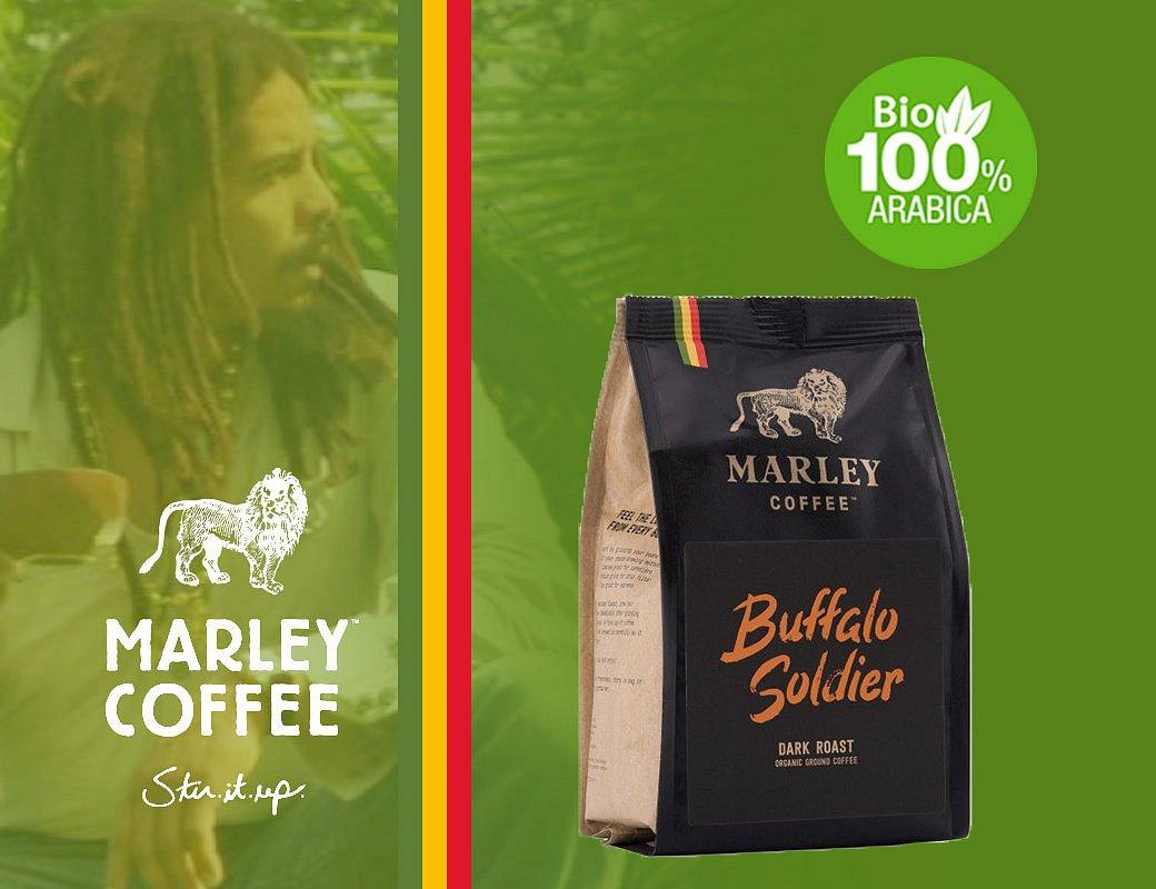 Marley Coffee Buffalo Soldier - 1 kg