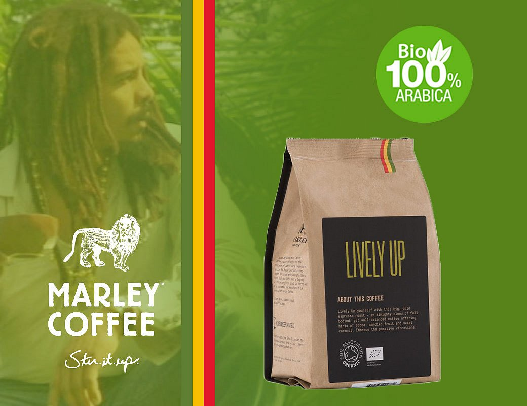Marley Coffee Lively Up! - 227 g