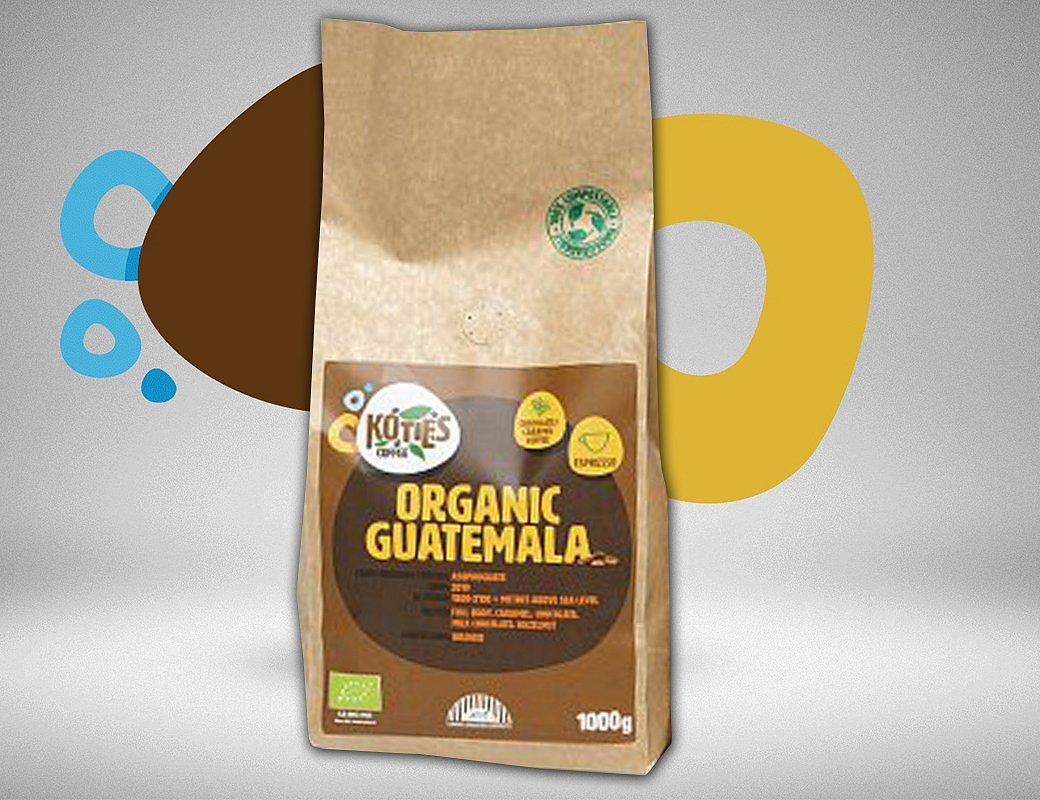 Zrnková káva Guatemala 1000g