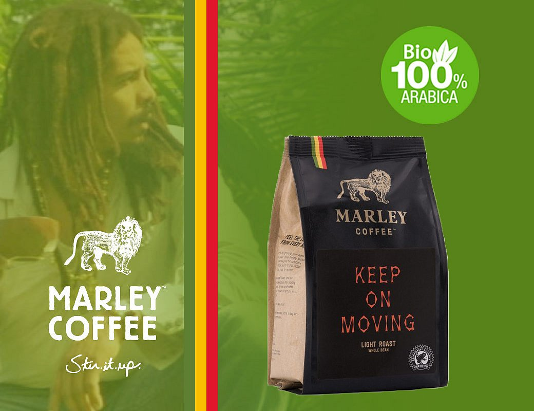 Marley Coffee Keep On Moving - 1 kg