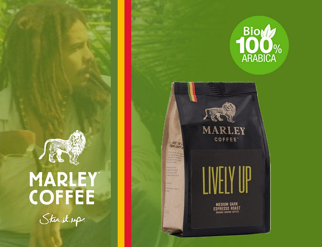 Marley Coffee Lively Up! - 1 kg