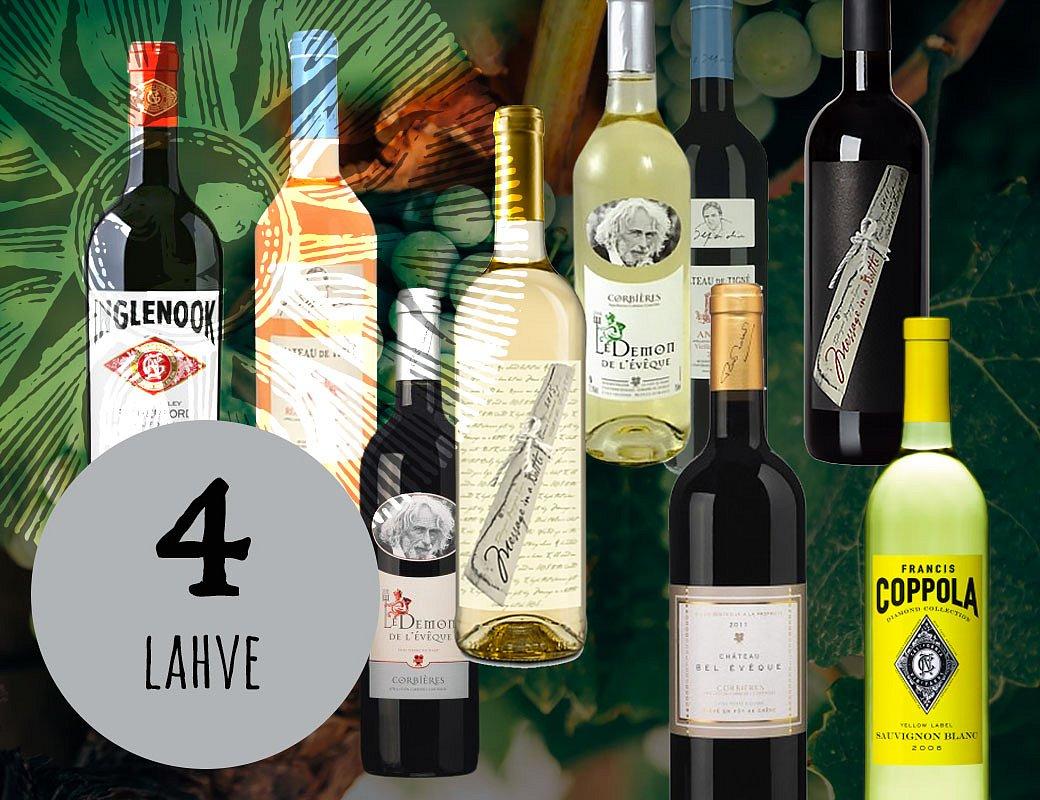 Vína slavných osobností 4 lahve