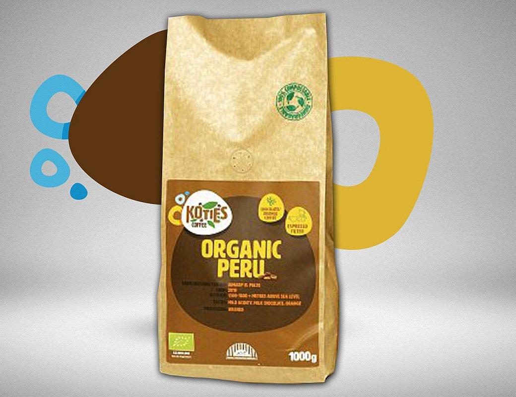 Zrnková káva Peru 1000g