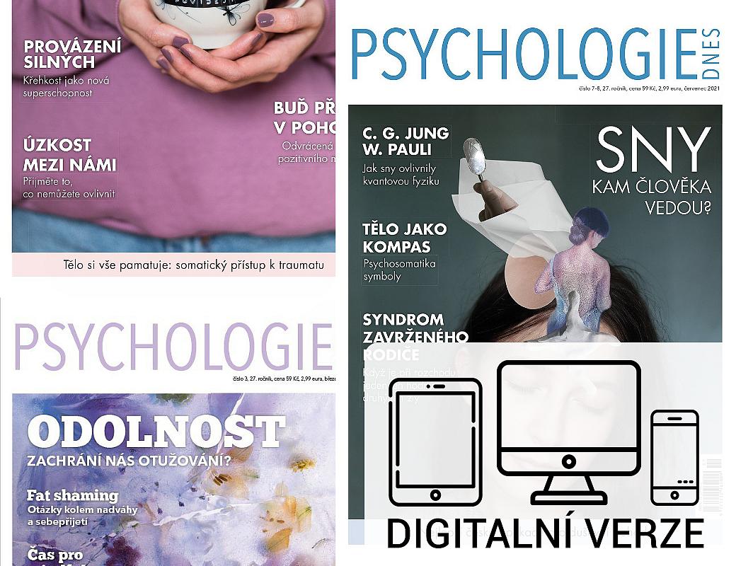 PSYCHOLOGIE DNES digitál