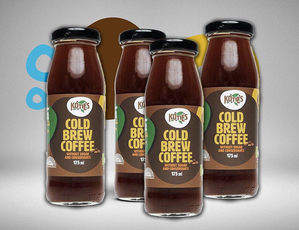 Malá kávová vzpruha Cold brew coffee 175ml (4x)