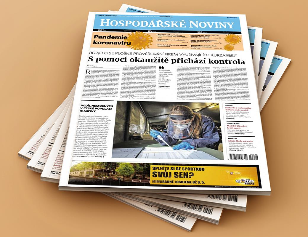Hospodářské noviny od pondělí do pátku