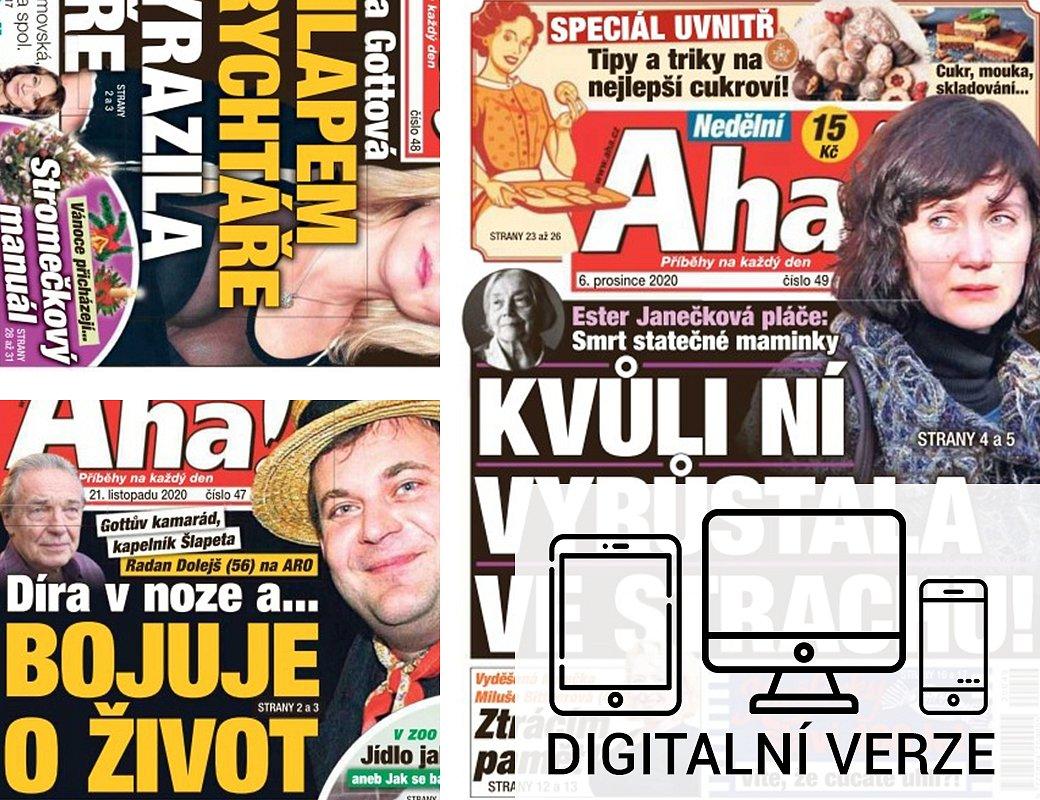 NEDĚLNÍ AHA! digitál