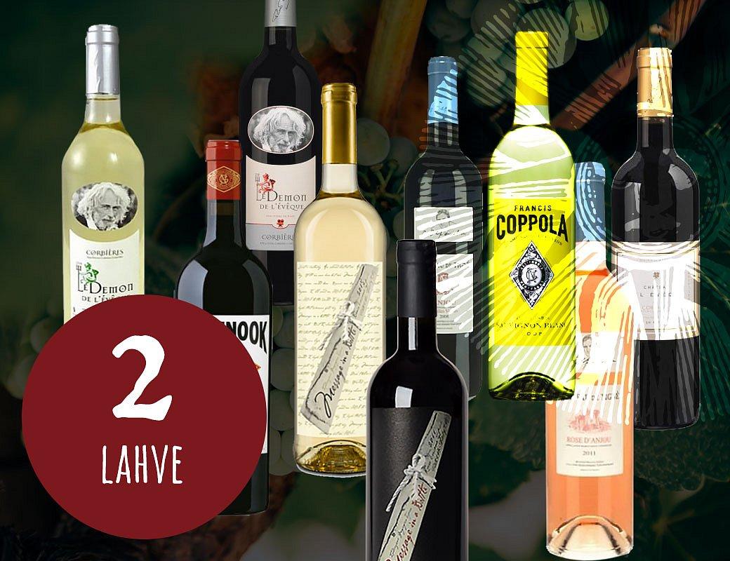 Vína slavných osobností 2 lahve