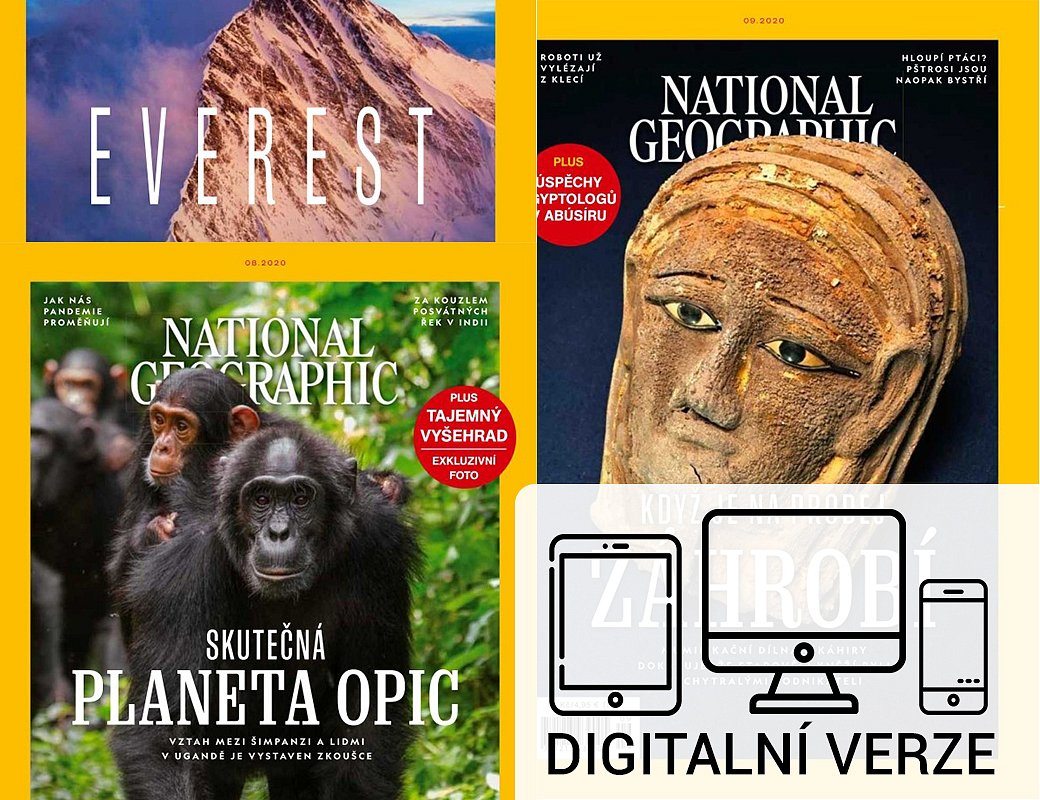 NATIONAL GEOGRAPHIC digitál