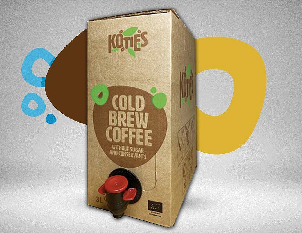 Velká kávová vzpruha Cold brew coffee 3l
