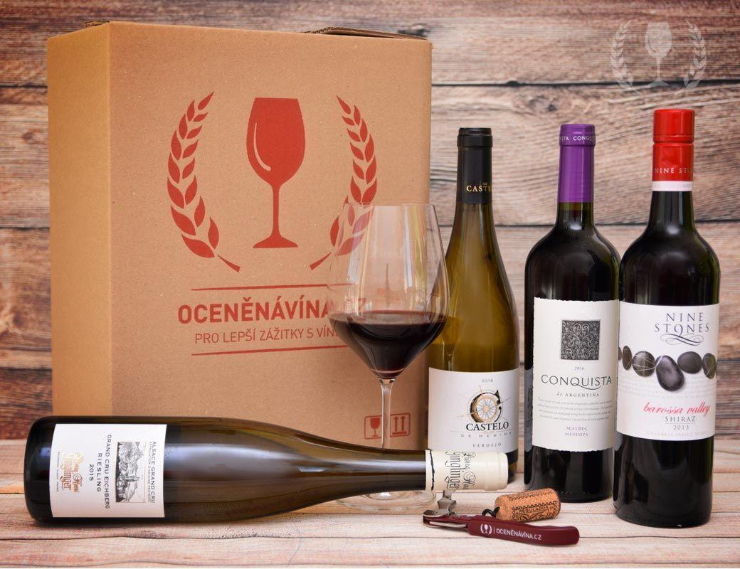 Oceněná vína Pack of 4-6