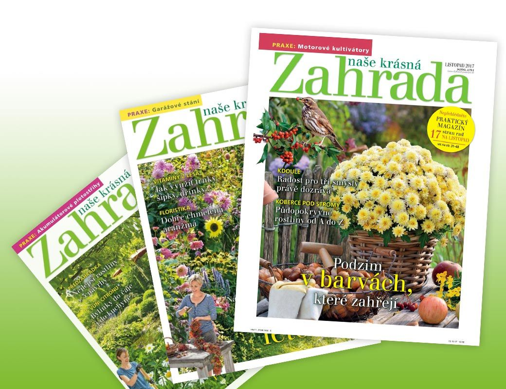 Časopis Naše krásná zahrada