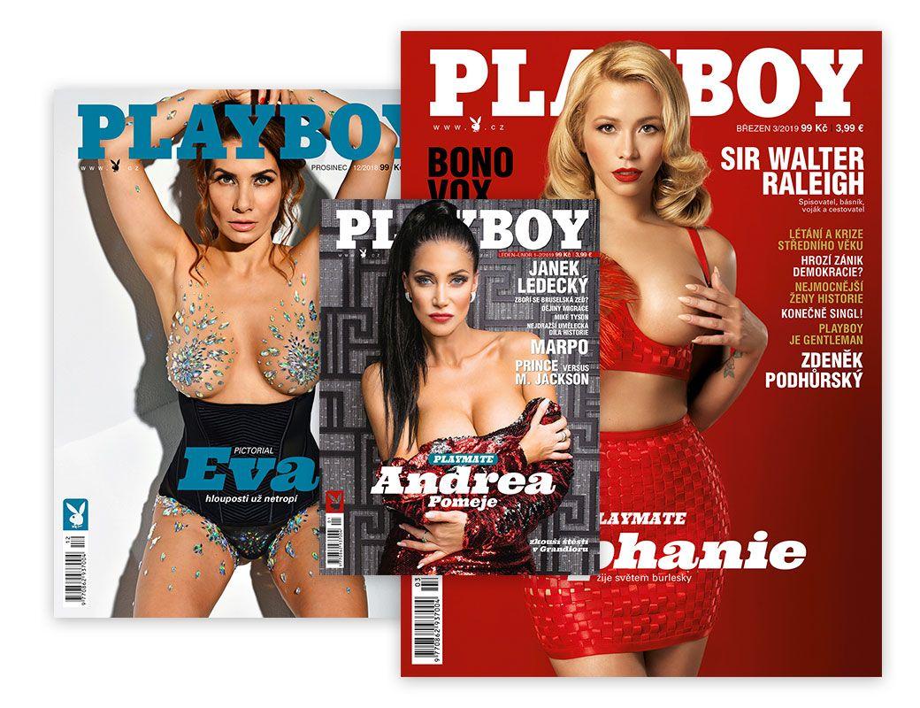 Playboy doporučenou zásilkou